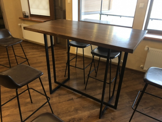 Bar Table of  Solid Oak W 0112