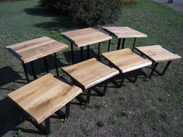 Tables of Oak`s Solid 012