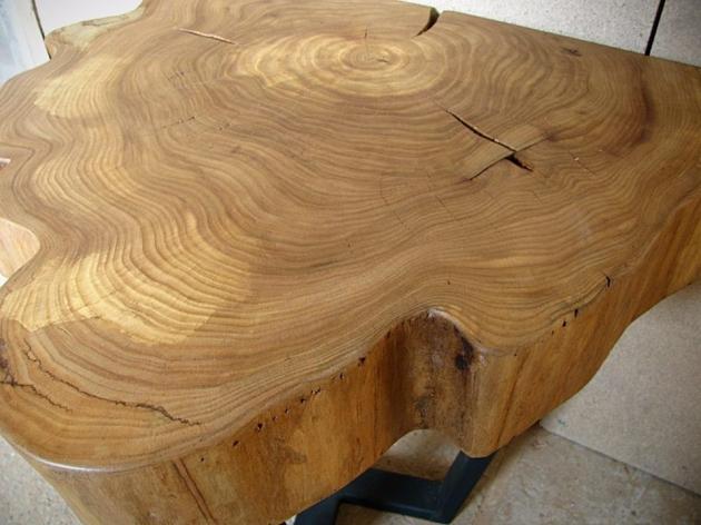 Столик із масиву береста SP330