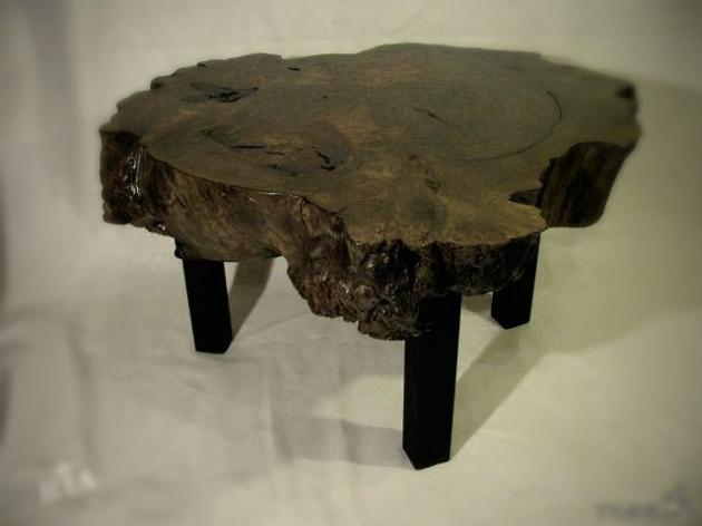 Столик зі спилу тополі SP302