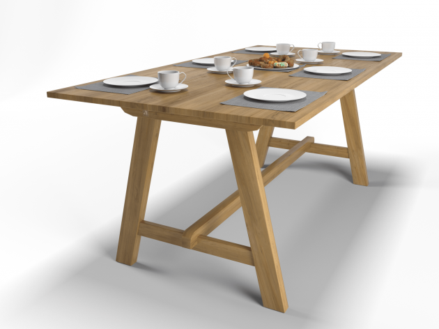 """Dining Table """"Simple D"""""""