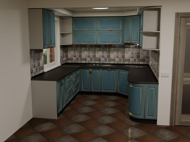 Кухня K015