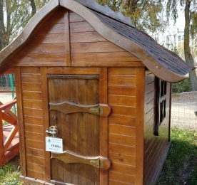 Дитячий будиночок з дерева (0138)