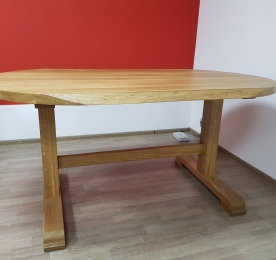 Dining Table of Oak W 0171