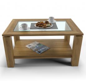 """Кофейный столик """"Quad glass"""""""