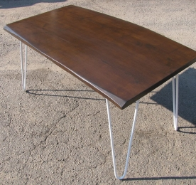 Computer Table of Ash`s Solid to the Office