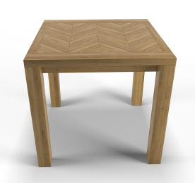 "Dining Table "" Herringbone 2"""