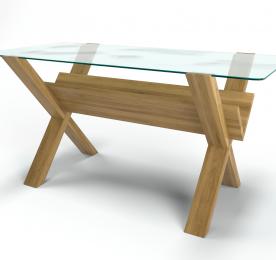 """Кофейный столик """"X Glass """""""