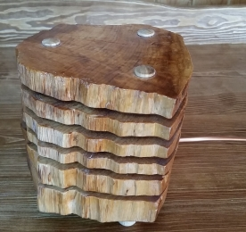 "LAMP ""CUT LOG"""