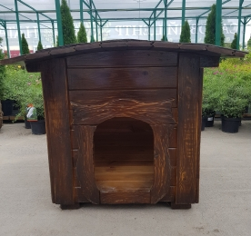 Kennel With Rounded Roof