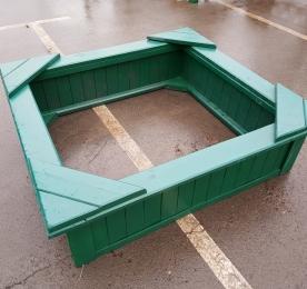 Песочница (зеленая)