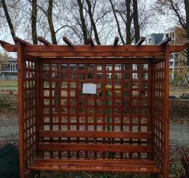 Пергола из дерева (0179)