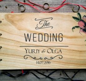 Свадебная книга поздравлений и пожеланий