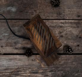 "Аксесуар ""Дерев'яна лампа"""