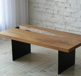 Кофейный столик из массива дуба