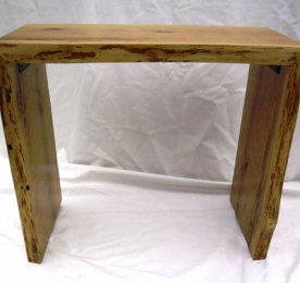 Console of Solid  Oak 015