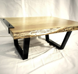 Square Coffee Table of Oak`s Solid