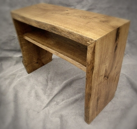 Console of Solid Oak 014