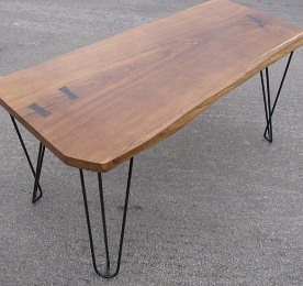 Computer Table of  Solid Oak 011