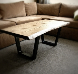 Кофейный столик из массива ясеня