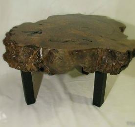 Столик из спила тополя 012