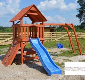 Детская площадка из дерева (002)