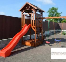 Детская площадка из дерева (003)