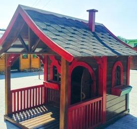 Дитячий будиночок з дерева (1115)