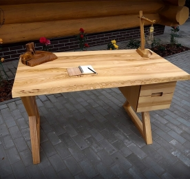 Writing Table "Ash Triangle"
