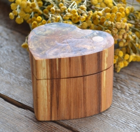 Wood Jewelry Box NVO 048
