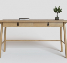 "Writing Table "" fancy oak """