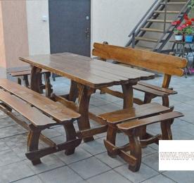 Лавочки и стол (0193)