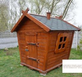 Детский домик из дерева (0129)
