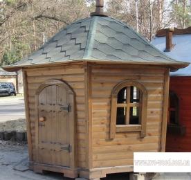 Детский домик из дерева (1116)