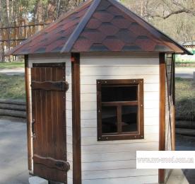 Детский домик из дерева (1117)