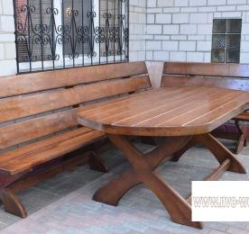 Мебель для сада из дерева (0087)