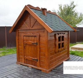 Детский домик из дерева (0137)