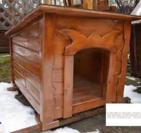 Insulated Kennel of Wood (0163)