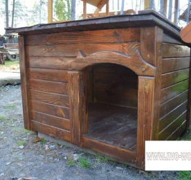 Insulated Kennel of Wood (0165)