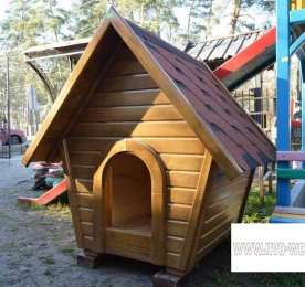 Insulated Kennel of Wood (0167)