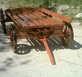 Cart of Wood (0102)