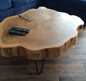 Coffee Table of Cut Wood SP331