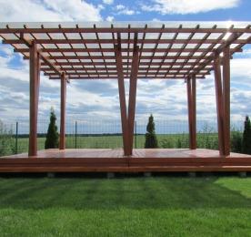 Pergola With Terrace