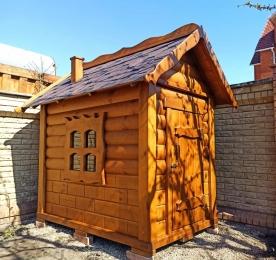 Дитячий будиночок з дерева (0136)