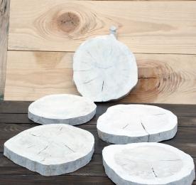 Набор деревянных срезов N7. Дуб