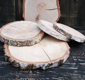 CUTS OF WOOD (BY THE PIECE) BIRCH
