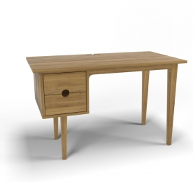 "Writing Table ""Simple Oak"""