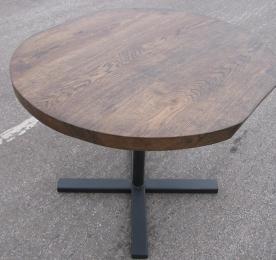 Oval Oak Table 015