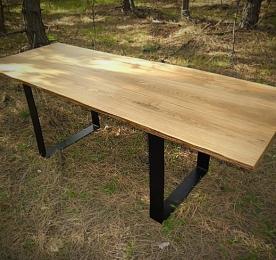Обеденный стол из массива дуба W 0120